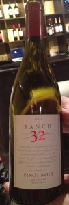 2010 Pinot Noir by Ranch 32